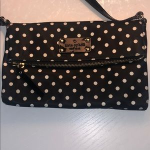 Kate spade polka dot crossbody bag